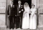 Marriage of Lily Crighton and James Will 1956