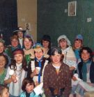 Fancy Dress Birthday Party at 75 High Field 1975