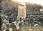 Unveiling of the War Memorial in New Pitsligo