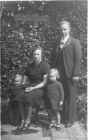 Johnny and Ethel Gerrard with daughters Mary and Ethel
