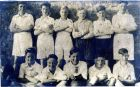 New Pitsligo Boy's football team 1944 (N. P. select) taken by Mrs Wisely at Strichen