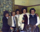 Biffo, Ronnie Ewan, James Whyte , Colin Robertson, Davie Alexander.  Winning the The NP darts League 1981 - 1983 Three years on the trot.
