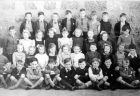 New Pitsligo Junior School, Class of 1949<br />Back row L-R Victor McBeth, James Knox, Alan Hutcheon, Michael Fraser, John Smith, William Wilson, John Crighton, William Duguid.